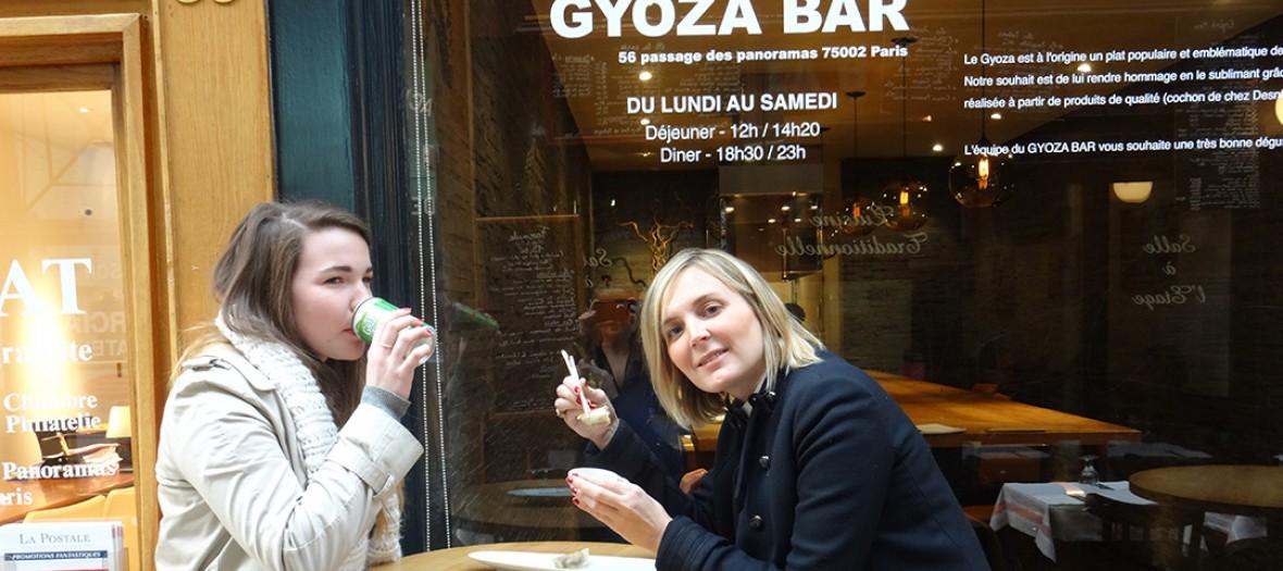 Gyoza bar terrace