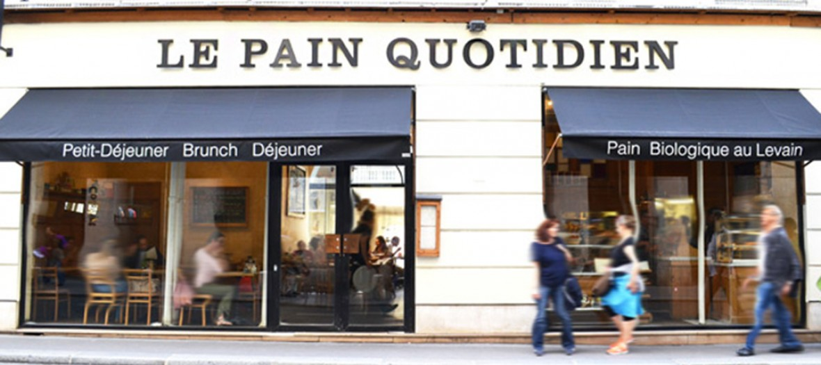 Le pain quotidien front door