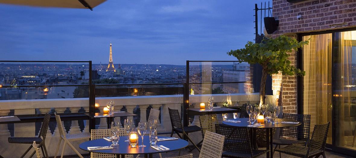 Terrass hotel rooftop