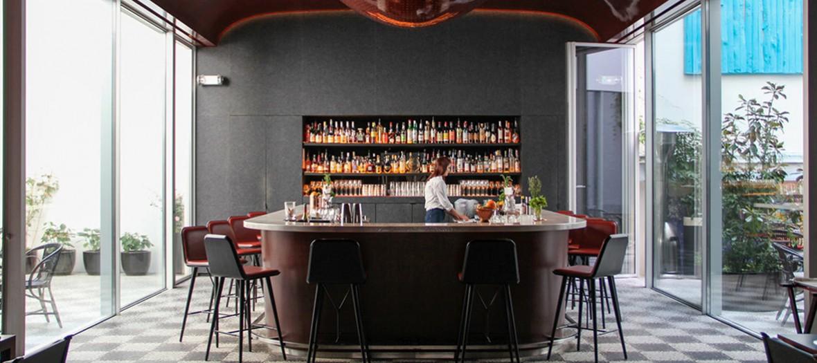 Les bains paris bar cocktails