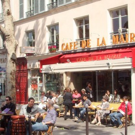 Cafe de la mairie terrace