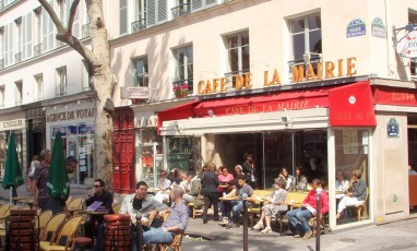Cafe de la mairie terrace