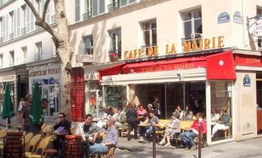 Cafe de la mairie terrasse