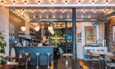 Coffee club interior