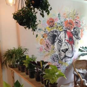Effet Flower Rock At Home Princ