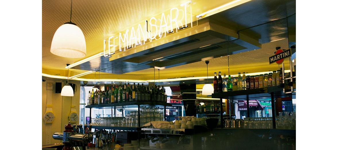 Le bar du Mansart