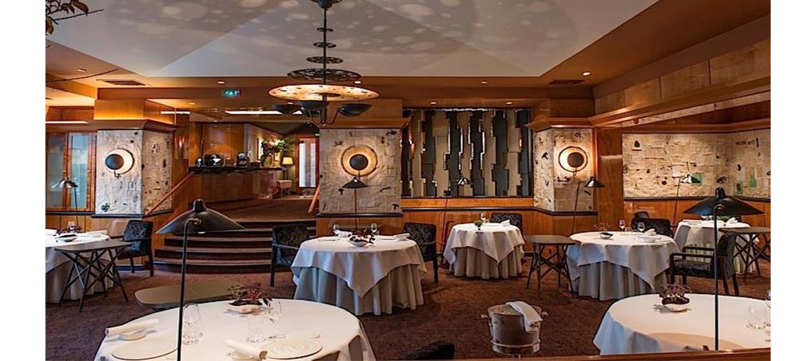 Salle de restaurant Pierre Gagnaire