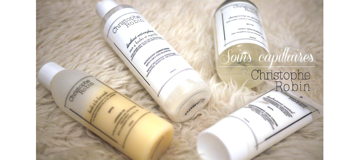 Christophe Robin hair products range