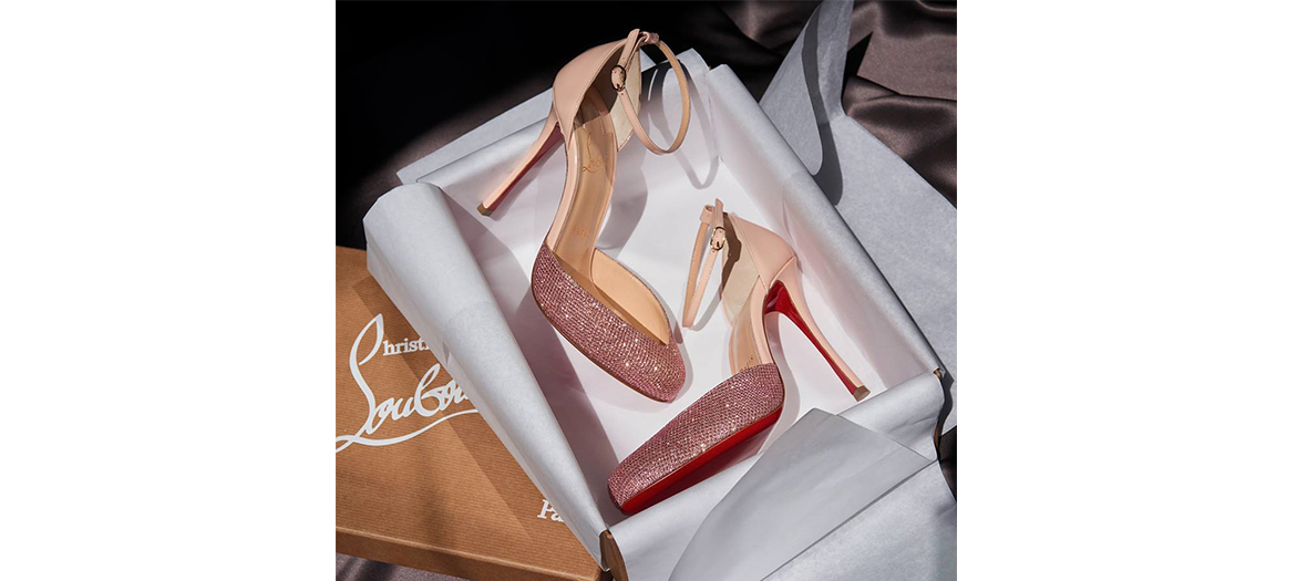 High heels by Christian Louboutin