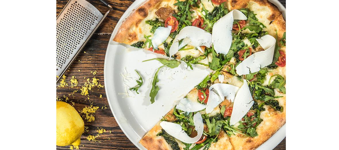 A favourite dish, pizza
