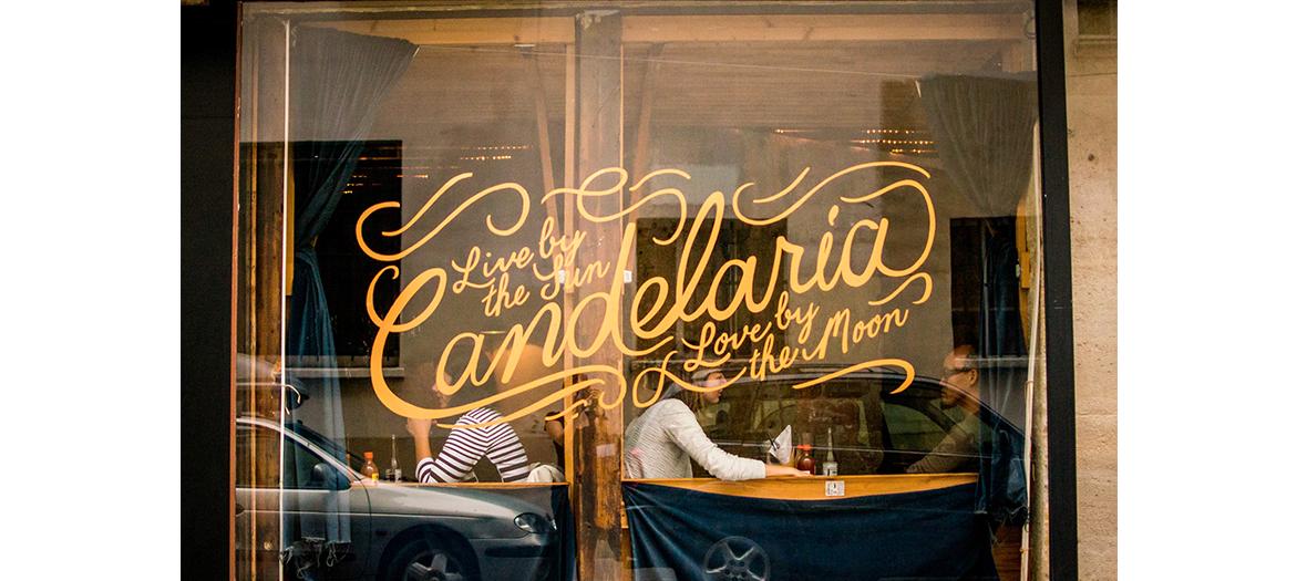 Devanture du restaurant Candelaria