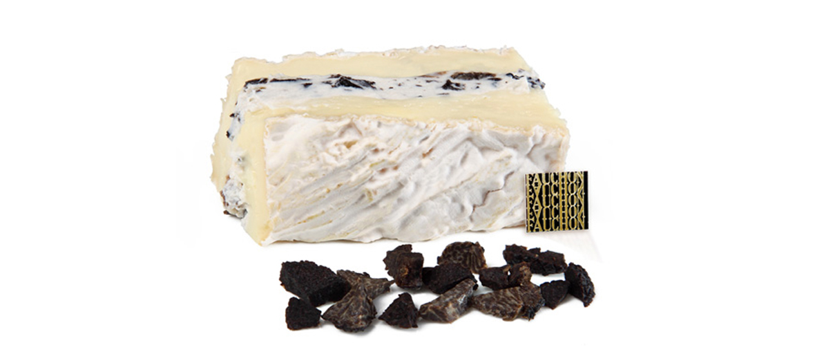 Brie with truffles by Fauchon