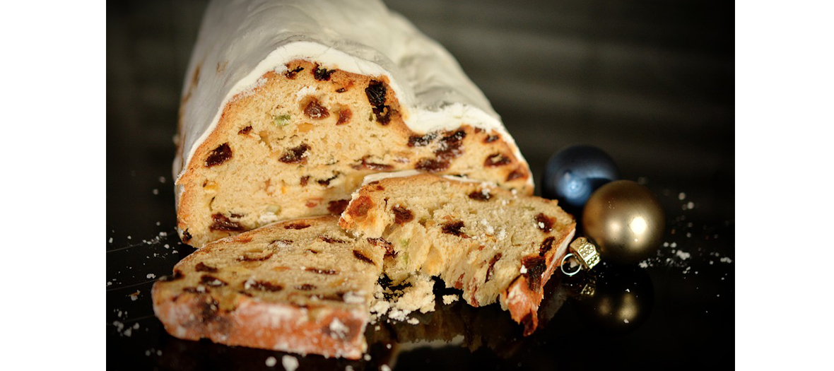 the stollen cake