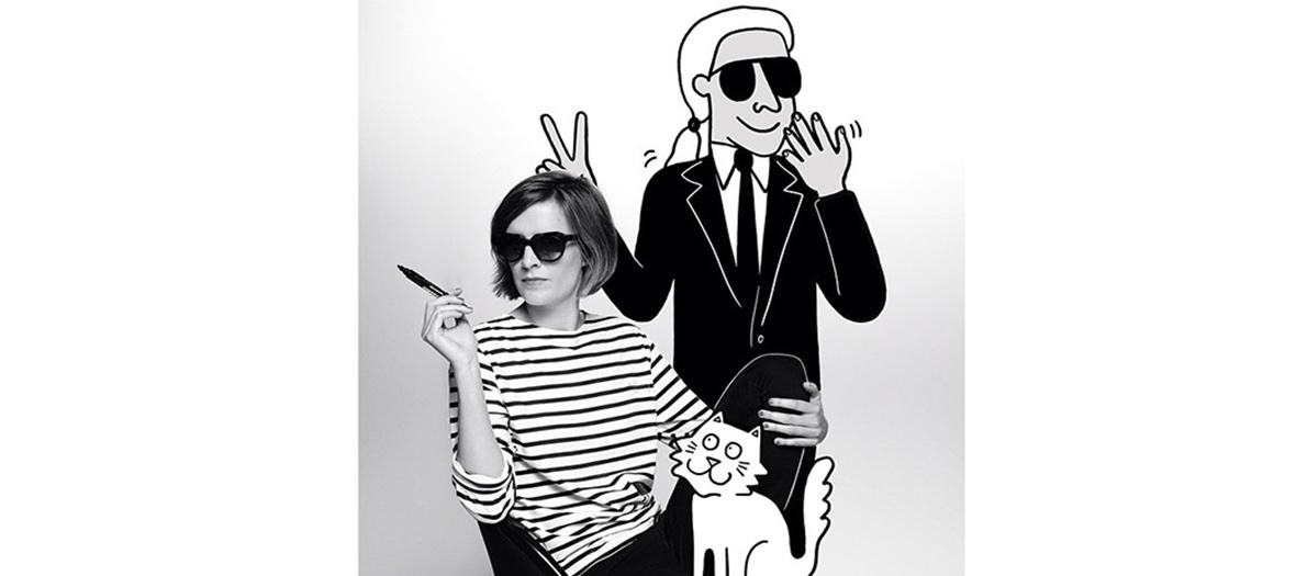 Tiffany Cooper & Karl Lagerfeld