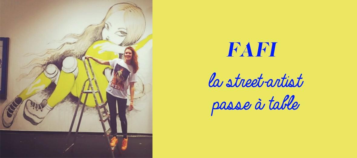 La street artist Fafi ouvre une cantine de Banh-Mi