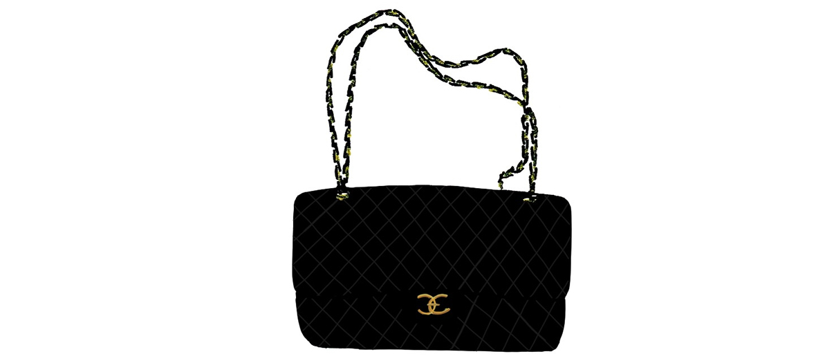 Illustration sac Chanel