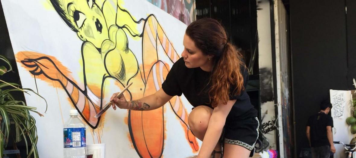 Fafi La Street Artist Passe A Table