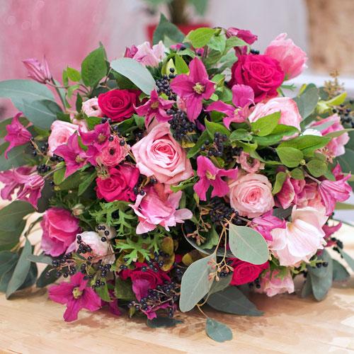 Un bouquet de roses chez rose by claire for Un bouquet de roses