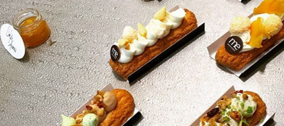 Eclairs to customize at Mon Eclair