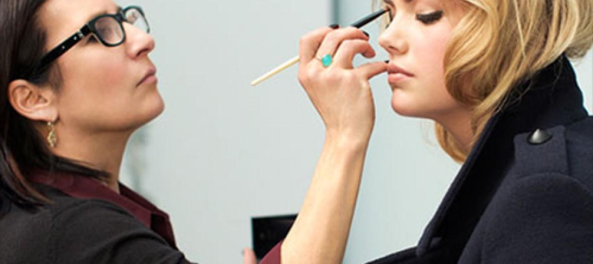 A makeup lesson at Bobbi Brown