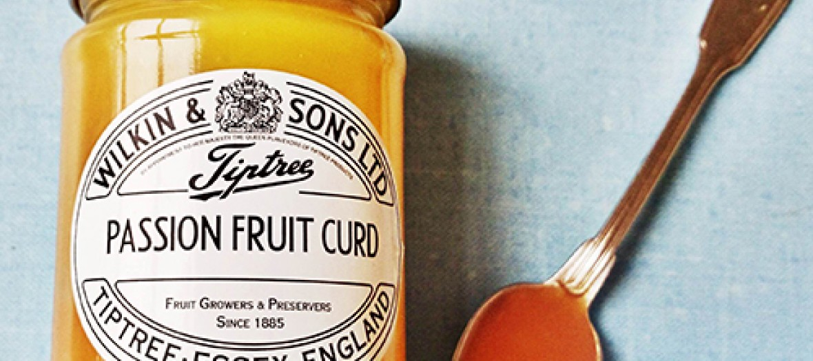 La Plus Pop British Passion Fruit Curd
