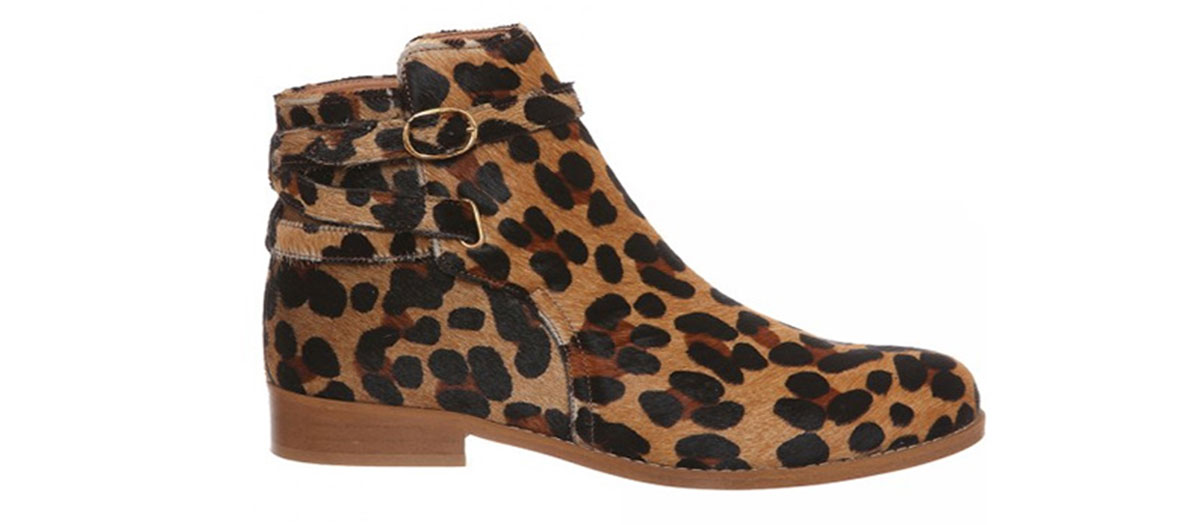 Bottines léopard Petites Mendigote