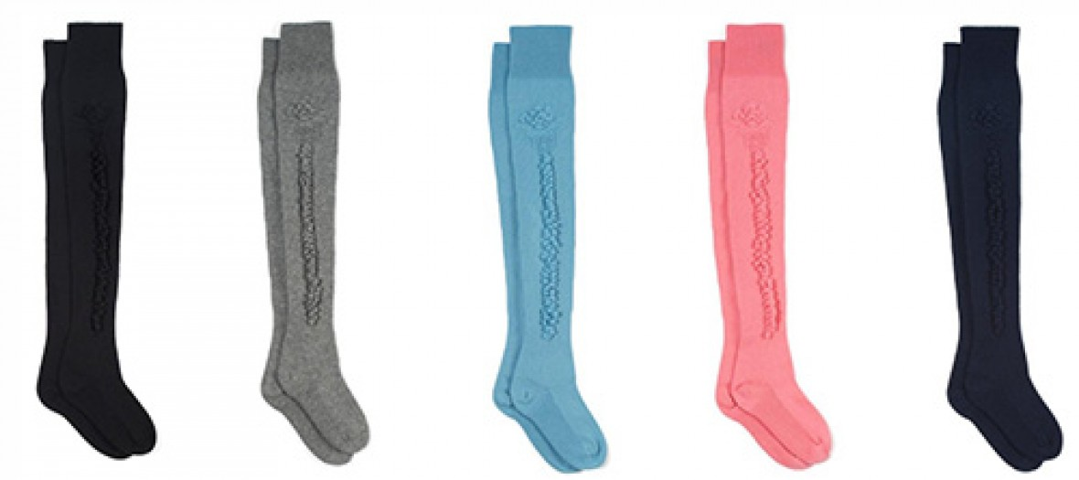 Les chaussettes grand luxe