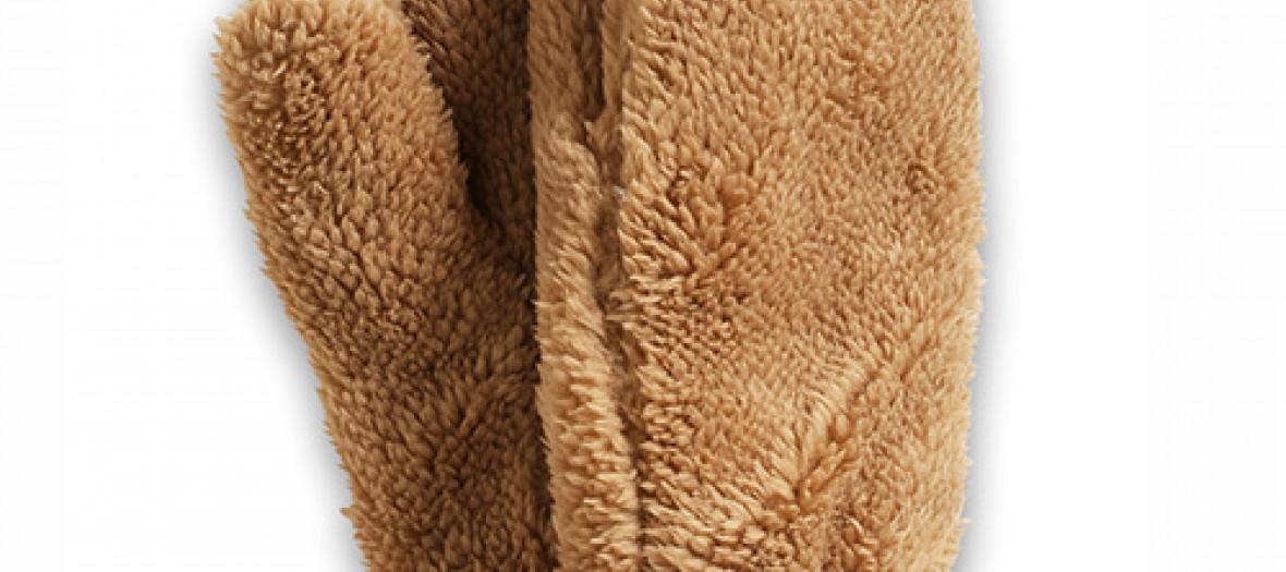 Les moufles-teddy bear