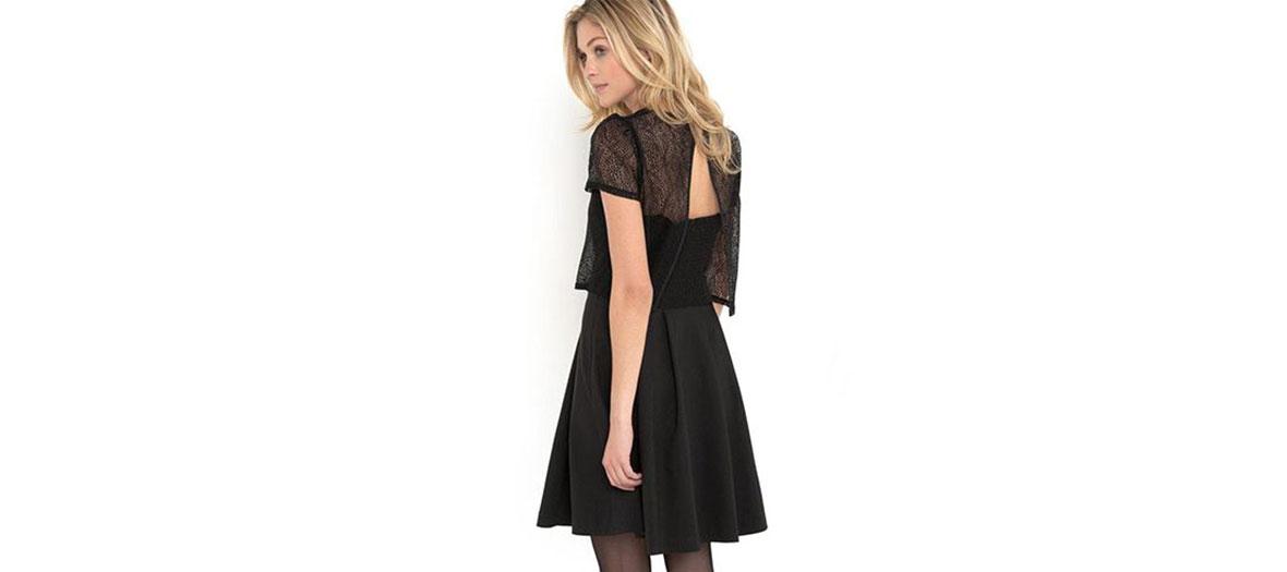 2 in 1 black dress Mlle R