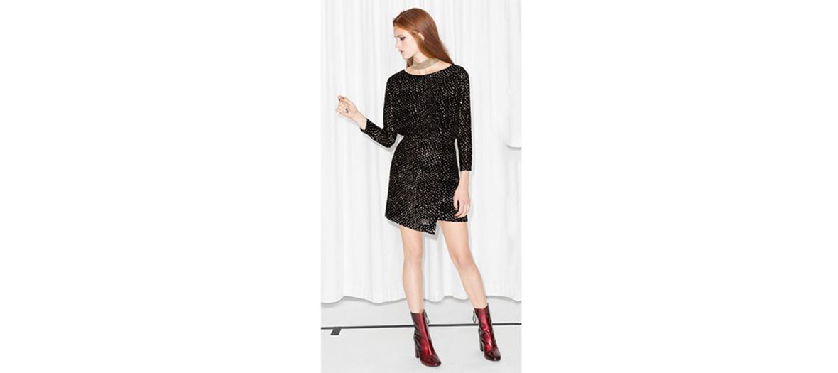 classy black dress& Other Stories