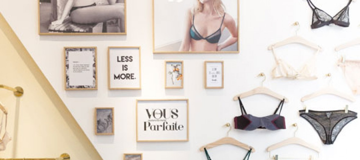 Ysé, the brand of couture and sexy lingerie in the Marais