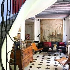 Une maison de campagne en plein paris