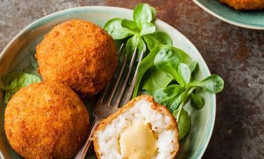 Italian Mammas' crispy rice balls