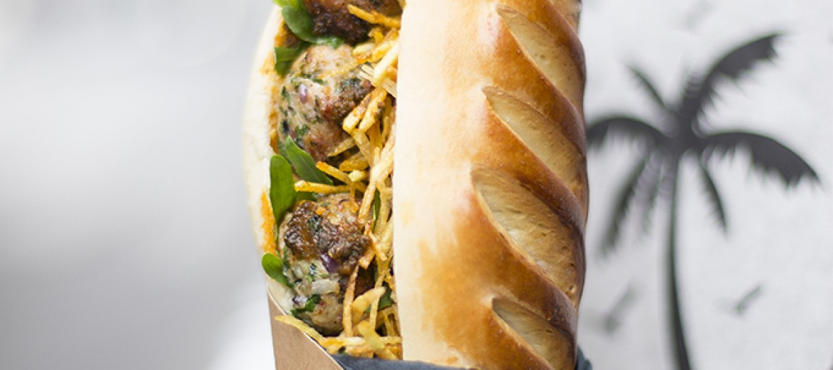 The Meatball Sandwich from café des Abattoirs