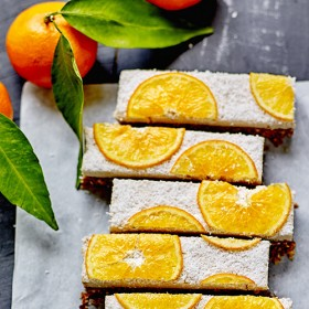 A healthy snack with clementines from Corsica