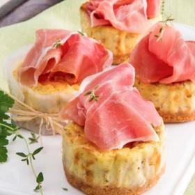 Cheesecake Jambon De Parme