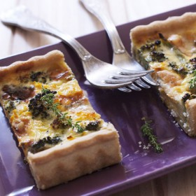 Tarte Rectangle Brocolis Roquefort