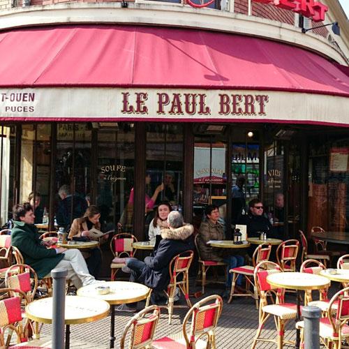 Cafe Paul Bert Paris Menu