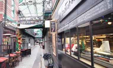 Les Burgers Et Coffe Shops Hispters Des Puces