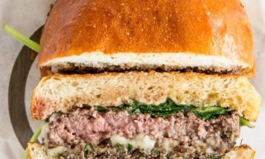 Blend burger plate