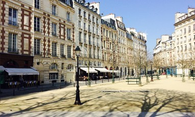 "Place Dauphine, a paradise ""just like in Provence"""