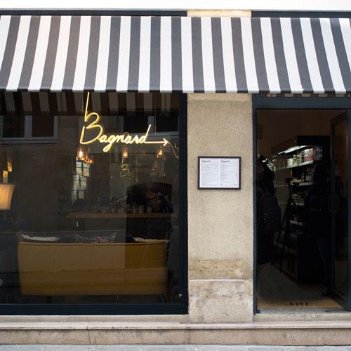 Façade du restaurant Bagnard