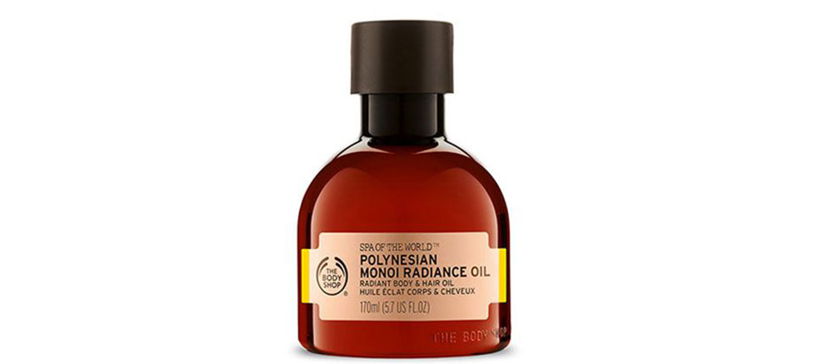 oil for body and hair by the Body Shop