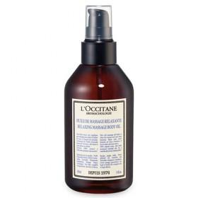Une huile de massage relaxante