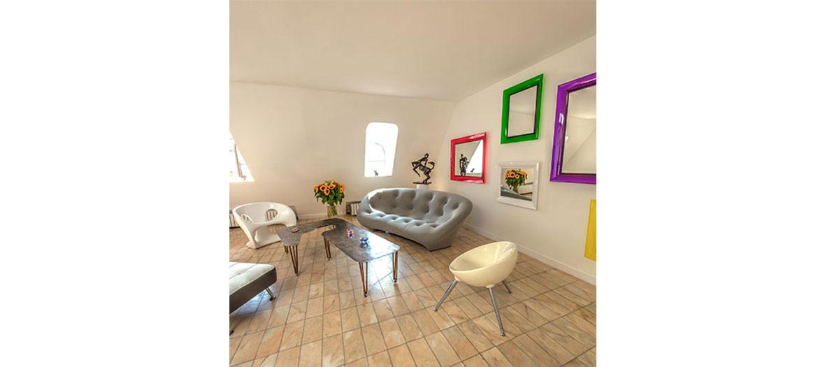 l'appartement d'Olivier Gay