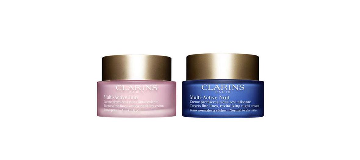 Clarins creams anti-age