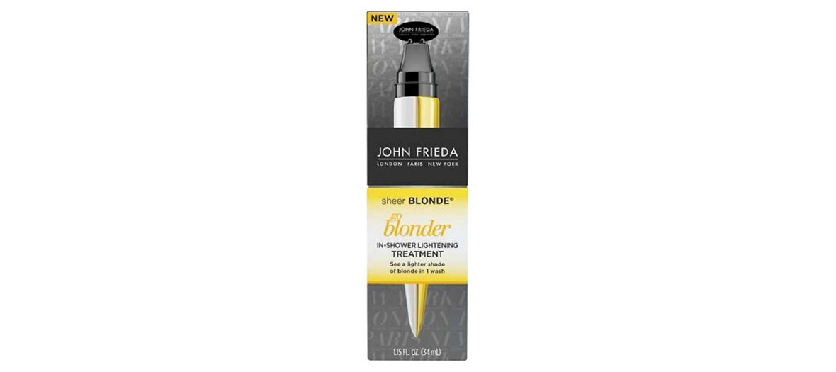 Blond coloration tube by John Frieda