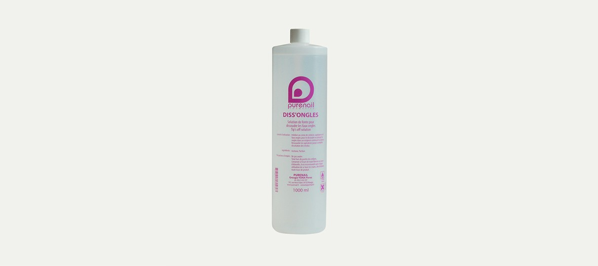 Tube de dissolvant Pure Nails pour vernis semi permantent
