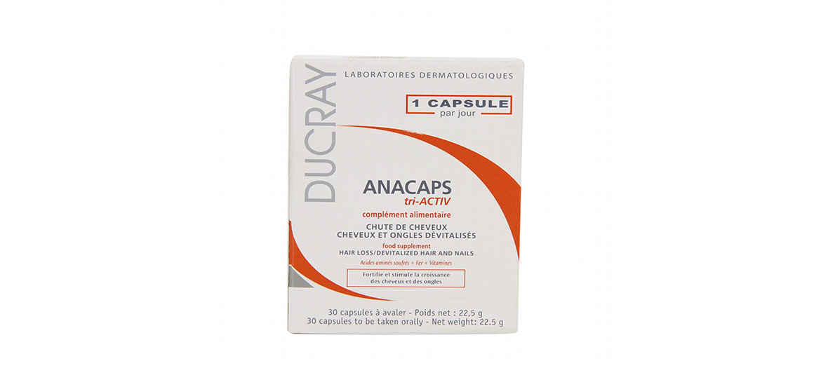 Anti hair loss pills by Ducray