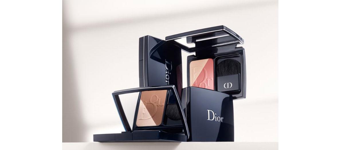 Dior make up palette strobing